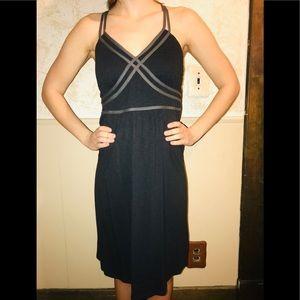 Athleta cotton dress. Size medium black